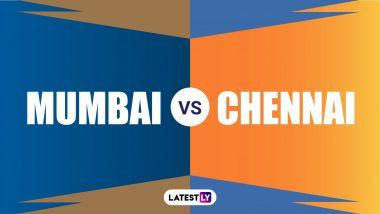 MI vs CSK IPL 2020: अंबाती रायुडू, फाफ डु प्लेसिसच्या अर्धशतकानेचेन्नई सुपर किंग्सचा एकहाती विजय, मुंबई इंडियन्स 5 विकेट पराभूत