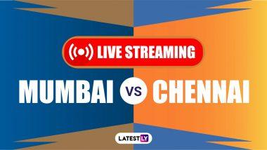 MI vs CSK, IPL 2020 Live Streaming: कधी आणि कुठे बघता येईल मुंबई इंडियन्स विरुद्ध चेन्नई सुपर किंग्स यांच्यातील पहिल्या मॅचचं लाईव्हस्ट्रीमिंग
