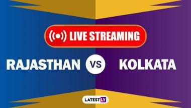 RR vs KKR, IPL 2020 Live Streaming: राजस्थान रॉयल्स आणि कोलकाता नाईट रायडर्स यांच्यातील आयपीएल लाईव्ह सामना आणि स्कोर पाहा Hotstar आणि Star Network वर