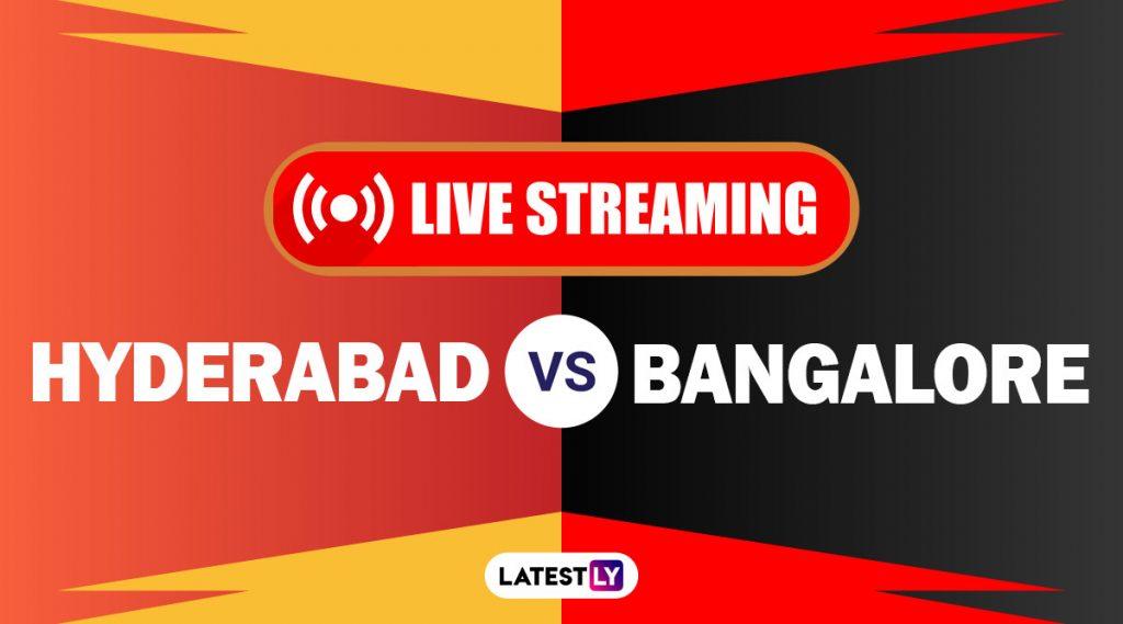 SRH vs RCB, IPL 2020 Live Streaming: सनरायझर्स हैदराबाद आणि रॉयल चॅलेंजर्स बेंगलोर यांच्यातील आयपीएल लाईव्ह सामना आणि स्कोर पाहा Disney+ Hotstar वर