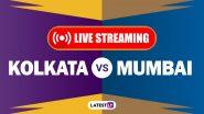 KKR vs MI, IPL 2020 Live Streaming: कोलकाता नाईट रायडर्स आणि मुंबई इंडियन्स यांच्यातील आयपीएल लाईव्ह सामना आणि स्कोर पाहा Disney+ Hotstar वर