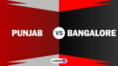 KXIP vs RCB, IPL 2020: बेंगलोरने टॉस जिंकत घेतला गोलंदाजीचा निर्णय, पाहा दोन्ही टीमचाप्लेइंग इलेव्हन