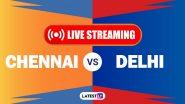 CSK vs DC, IPL 2020 Live Streaming: चेन्नई सुपर किंग्सआणि दिल्ली कॅपिटल्सयांच्यातील आयपीएल लाईव्ह सामना आणि स्कोर पाहा Disney+ Hotstar वर