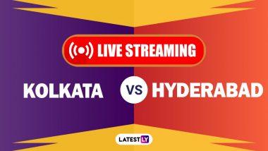 KKR vs SRH, IPL 2020 Live Streaming: सनरायझर्स हैदराबाद आणि कोलकाता नाइट रायडर्सयांच्यातील आयपीएल लाईव्ह सामना आणि स्कोर पाहा Disney+ Hotstar वर