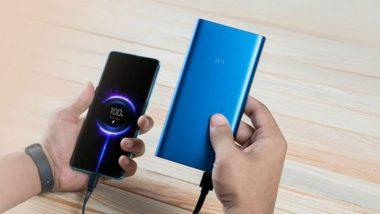 Xiaomi ने लॉन्च केली मेड इन इंडिया असलेली Mi Power Bank 3i, ग्राहकांना 899 रुपयांत खरेदी करता येणार