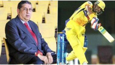 IPL 2020 Update: 'माझ्या वक्तव्याचा चुकीचा अर्थ काढला जातो हे दुर्दैवी, टीम सुरेश रैनाच्या कायम पाठीशी',CSK बॉसएनश्रीनिवासनयांचा घूमजाव