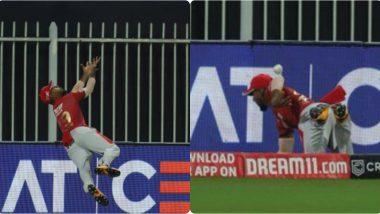 RR vs KXIP, IPL 2020: निकोलस पूरन याची 'सुपरमॅन डाइव्ह', KXIP साठी अडवल्या4 धावा; पाहून तुम्हीही व्हाल इम्प्रेस (Watch Video)
