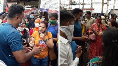 Mumbai Local: मुंंबई लोकल ट्रेन लवकर सुरु करा, संतप्त प्रवाशांचं विरार मध्ये आंदोलन (Watch Video)
