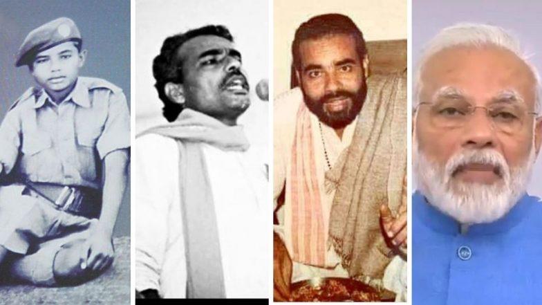 Happy Birthday PM Narendra Modi: पंतप्रधान नरेंद्र मोदी यांचे हे दुर्मिळ फोटो तुम्ही पाहिलेत का?