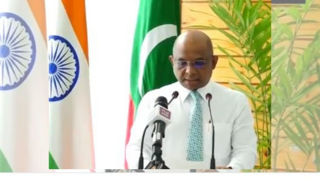 Maldives Foreign Minister Praises India In Hindi Video: कोरोना काळात भारताची मालदीव ला $250 मिलियनची मदत, परराष्ट्र मंत्री अबदुल्ला शाहीद यांनी हिंदीत मानले आभार