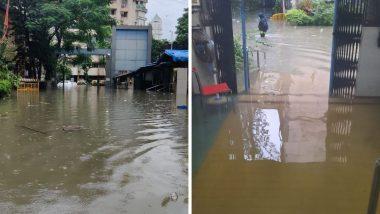 Mumbai Rains: कोरोना रुग्ण असलेल्या नायर रुग्णालयात पावसाचं पाणी शिरलं (See Photos & Video)