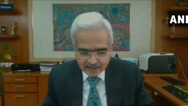 RBI Governor Shaktikanta Das on Economy: अर्थव्यवस्थेला गती देण्याची जबाबदारी कोणाची? आरबीआय गव्हर्नर शक्तिकांत दास काय म्हणतात पाहा