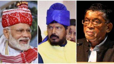 Ramdas Athawale Poem On Prime Minister Narendra Modi Video: रामदास आठवले यांची पंतप्रधान मोदी यांच्यावर कविता 'इसलिये 'वो' करते है मोदीजी से प्यार'
