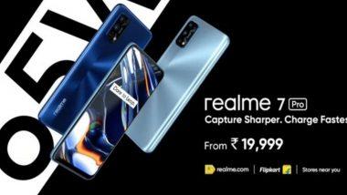 क्वाड रियर कॅमेऱ्यासह Realme 7 Pro भारतात लॉन्च, जाणुन घ्या किंमतीसह स्पेसिफिकेशन