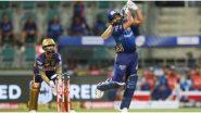KKR vs MI, IPL 2020: हिटमॅन Reloaded! रोहित शर्माची फटकेबाजी, मुंबई इंडियन्सने कोलकातासमोर 196 धावांचे विशाल आव्हान