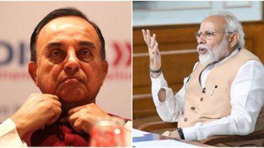 Ram Mandir: 'राम मंदिरामध्ये राजीव गांधी यांचे योगदान, नरेंद्र मोदी यांनी काहीही केले नाही' भाजप खासदार सुब्रह्मण्यम स्वामी यांच्याकडून घरचा आहेर