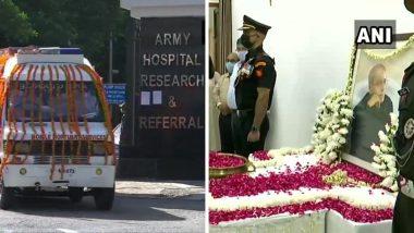 Pranab Mukherjee Funeral: भारताचे माजी राष्ट्रपती प्रणब मुखर्जी यांच्यावर दिल्लीत दुपारी 2 च्या सुमारास अंत्यसंस्कार