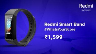 Redmi Smart Band भारतामध्ये झालं लॉन्च; किंमत 1,599 रूपये, इथे जाणून घ्या खास फीचर्स