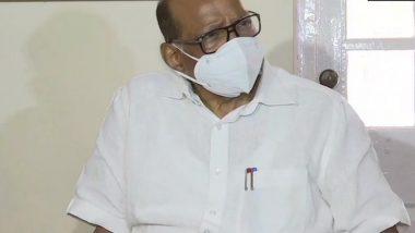 Sharad Pawar on Suspension Of 8 Rajya Sabha MP:  शरद पवार यांचा आज अन्नत्याग; राज्यसभा निलंबित 8 खासदारांना पाठिंबा देण्यासाठी निर्णय