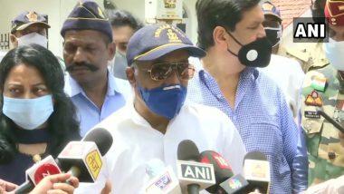 Ex-Navy officer Madan Sharma Maharashtra Governor Meeting: माजी नौदल अधिकारी मदन शर्मा यांनी महाराष्ट्राचे राज्यपाल भगतसिंह कोश्यारी यांची घेतली भेट; राज्य सरकार बरखास्त करून राष्ट्रपती राजवट लागू करण्याची केली मागणी