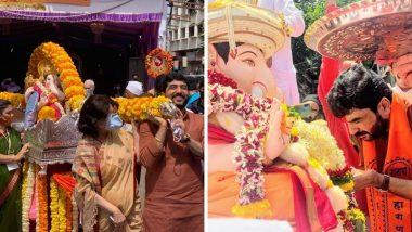 Pune Ganeshotsav 2020:  पुण्याच्या पाचही मानाच्या गणपतींचे विसर्जन अत्यंत साधेपणाने संपन्न