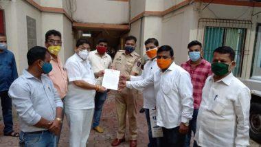 Shiv Sena Vs Kangana Ranaut: शिवसेना IT Cell कडून कंगना रनौत विरोधात ठाणे शहरात पोलिस तक्रार दाखल; देशद्रोहाचा गुन्हा दाखल करण्याची मागणी