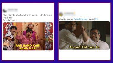 Vi Ad Funny Memes:Vodafone-Idea च्या नव्या रिब्रॅन्डिंग Viजाहिरातीला कंटाळलेल्यांचे सोशल मीडियात धम्माल मिम्स व्हायरल