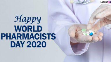 Happy World Pharmacist Day 2020 Wishes:  जागतिक फार्मासिस्ट डे च्या शुभेच्छा WhatsApp, Facebook च्या माध्यमातून शेअर करून कृतज्ञता व्यक्त करा औषध पुरवठा करणार्या Druggists ना!