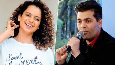 Karan Johar चित्रपट माफिया म्हणत कंगना रनौत हिचे ट्विट; पीएम नरेंद्र मोदी यांना केले टॅग (View Tweet)