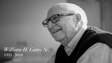 Bill Gates Sr Dies at 94: बिल गेट्स यांचे वडील William H. Gates यांचे अमेरिका मध्ये निधन