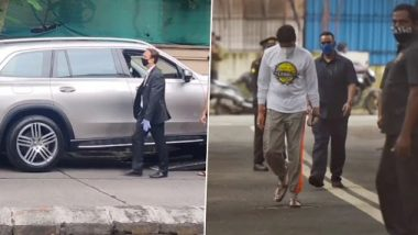 Amitabh Bachchan Buys Mercedes: बच्चन कुटुंबाने खरेदी केली आणखी एक मर्सिडीज; पहा नवीन कारचा व्हायरल व्हिडिओ