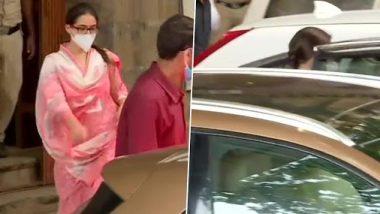 Sara Ali Khan Leaves From NCB Office: तब्बल 4 तासांच्या चौकशीनंतर अभिनेत्री सारा अली खान एनसीबीच्या कार्यालयातून पडली बाहेर; पाहा फोटो