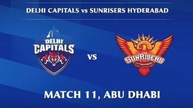 DC Vs SRH, IPL 2020: दिल्ली कॅपिटल्सने टॉस जिंकून प्रथम गोलंदाजी करण्याचा घेतला निर्णय