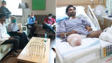 Mahad Accident: महाड दुर्घटनेत अनेकांचे प्राण वाचविणाऱ्या नावेद ची मंत्री उदय सामंत यांनी घेतली भेट