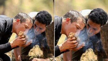 Akshay Kumar in Man vs. Wild: 'रसोडे में बेयर ग्रिल्स था' असे सांगत अक्षय कुमार ने शेअर केला हा मजेशीर फोटो; पाहून चाहतेही झाले लोटपोट