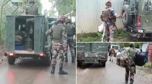 Encounter At Pattan: बारामुल्ला जिल्ह्यातील पट्टन येथे सुरक्षारक्षक आणि दहशतवाद्यांमध्ये सुरू असलेल्या चकमकीत एका दहशतवाद्याचा खात्मा