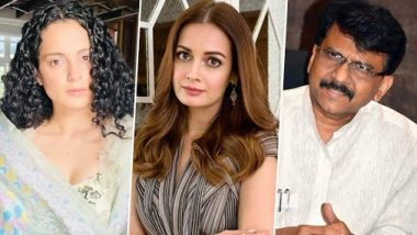 Dia Mirza On Sanjay Raut: कंगनाला 'हरामखोर मुलगी' म्हटल्याप्रकरणी संजय राऊत यांनी माफी मागावी - दिया मिर्झा