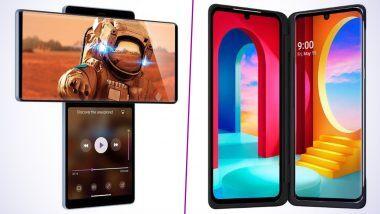 LG Wing आणि LG Velvet Dual Screen स्मार्टफोन भारतात लॉन्च; जाणून घ्या या धमाकेदार फोन्सचे फिचर्स आणि किंमत