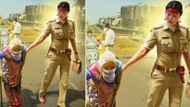 Navratri 2020: नवरात्रोत्सवाच्या दुसऱ्या दिवशी तेजस्विनी पंडित हिने साकारला पोलिसांच्या रुपातील दुर्गेचा अवतार! (See Pic)