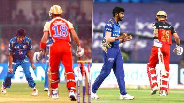 IPL 2020: मुंबई इंडियन्सच्या जसप्रीत बुमराहने पूर्ण केले आयपीएलमधील विकेटचे शतक, RCB कर्णधार विराट कोहली ठरला पहिला आणि 100 वा बळी