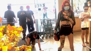 BDSM in Public? सर्वांच्या समोर कपल्सचे अश्लील वागणे पाहून सोशल मीडियात नवा वाद