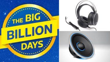 Flipkart Big Billion Days Sale 2020: फ्लिपकार्ट बिग बिलियन डेज सेल मध्ये 'या' हेडफोन्स आणि स्पीकर्स वर मिळतोय जबरदस्त Discount