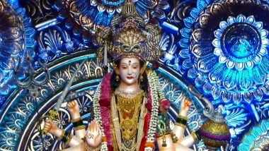 Thane Tembhi Naka Devi Live Darshan 2020: ठाण्यातील टेंभी नाका येथील देवीचे घरबसल्या करा लाईव्ह दर्शन आणि आरती, येथे पाहा Live Streaming