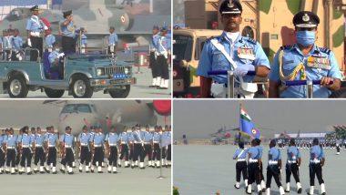 Indian Air Force Day 2020: भारतीय वायु सेनेच्या 88 व्या वर्धापन दिनानिमित्त वीर योद्धांच्या सन्मानार्थ गाजियाबाद मध्ये विशेष कार्यक्रमाचे आयोजन, See Photos