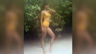 Disha Patani Hot Look In Yellow Monokini: दिशा पटानी ने शेअर केला पिवळ्या रंगाच्या मोनोकिनीतील फोटो; Watch Photo