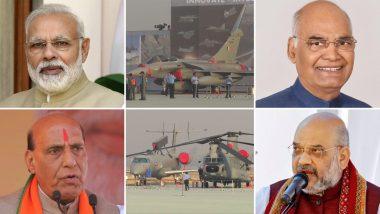 Indian Air Force Day 2020: पंतप्रधान नरेंद्र मोदी, राष्ट्रपती रामनाथ कोविंद यांच्यासह या दिग्ग्ज नेत्यांना ट्विटद्वारे हवाई दलाच्या योद्धांना दिल्या 88 व्या भारतीय वायु सेना दिनाच्या शुभेच्छा