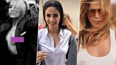 No Bra Day 2020: अभिनेत्री Jennifer Aniston, Kim Kardashian ते  Saba Qamar या स्टार्सनी दिलाय बेधडक  'नो ब्रा' लूक!