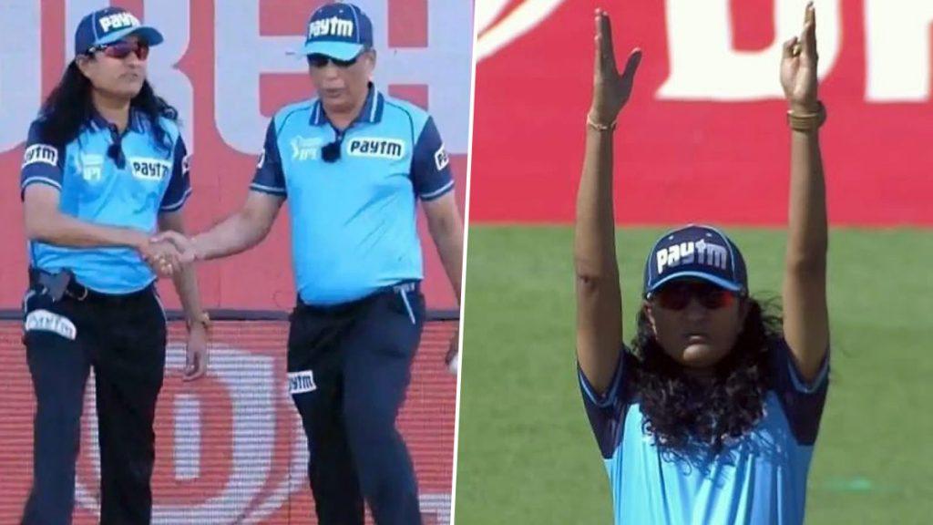 SRH vs KKR, IPL 2020 सामन्यातील अंपायर पुरुष की महिला? पश्चिम पथक यांचीहेअरस्टाईल पाहून यूजर्समध्येसंभ्रम,उभे राहण्याची पद्धतीवर मिम्स व्हायरल