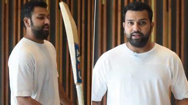 IPL 2020: CSKविरुद्ध लढाईपूर्वीमुंबई इंडियन्सकर्णधार रोहित शर्माने दिले 'बॅलेन्स द बॅट चॅलेंज', पाहा Video