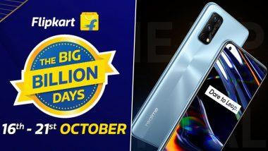Flipkart Big Billion Days Sale 2020: फ्लिपकार्ट बिग बिलियन डे सेल मध्ये Realme च्या 'या' जबरदस्त स्मार्टफोन्सवर मिळणार भन्नाट सूट
